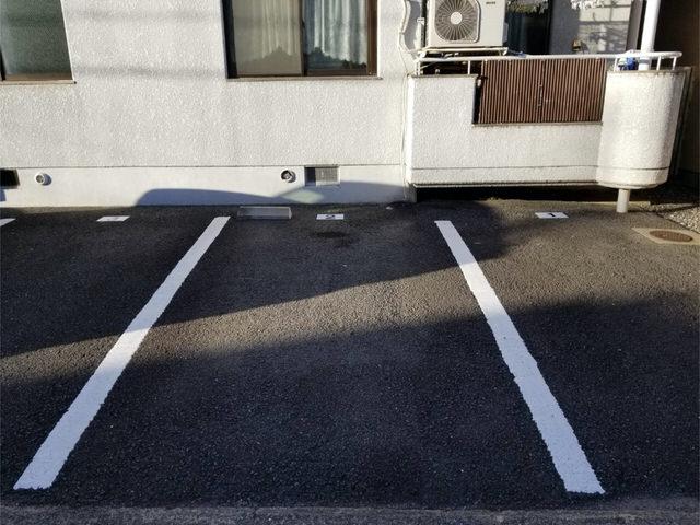 【アンクルホームの賃貸管理】駐車場管理プレートを貼ってきた①