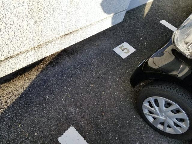 【アンクルホームの賃貸管理】駐車場管理プレートを貼ってきた②
