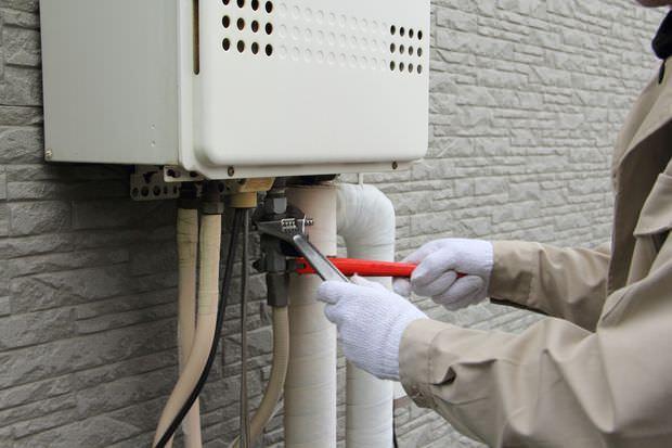 給湯器が凍結した時の対処方法