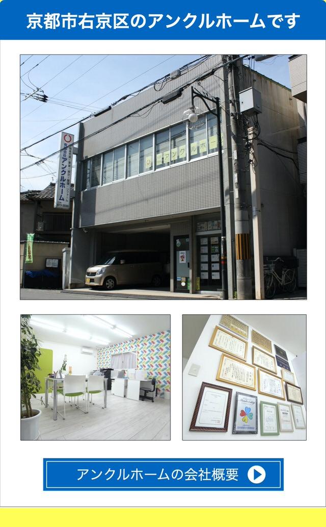 京都市右京区の不動産会社・アンクルホームの会社概要